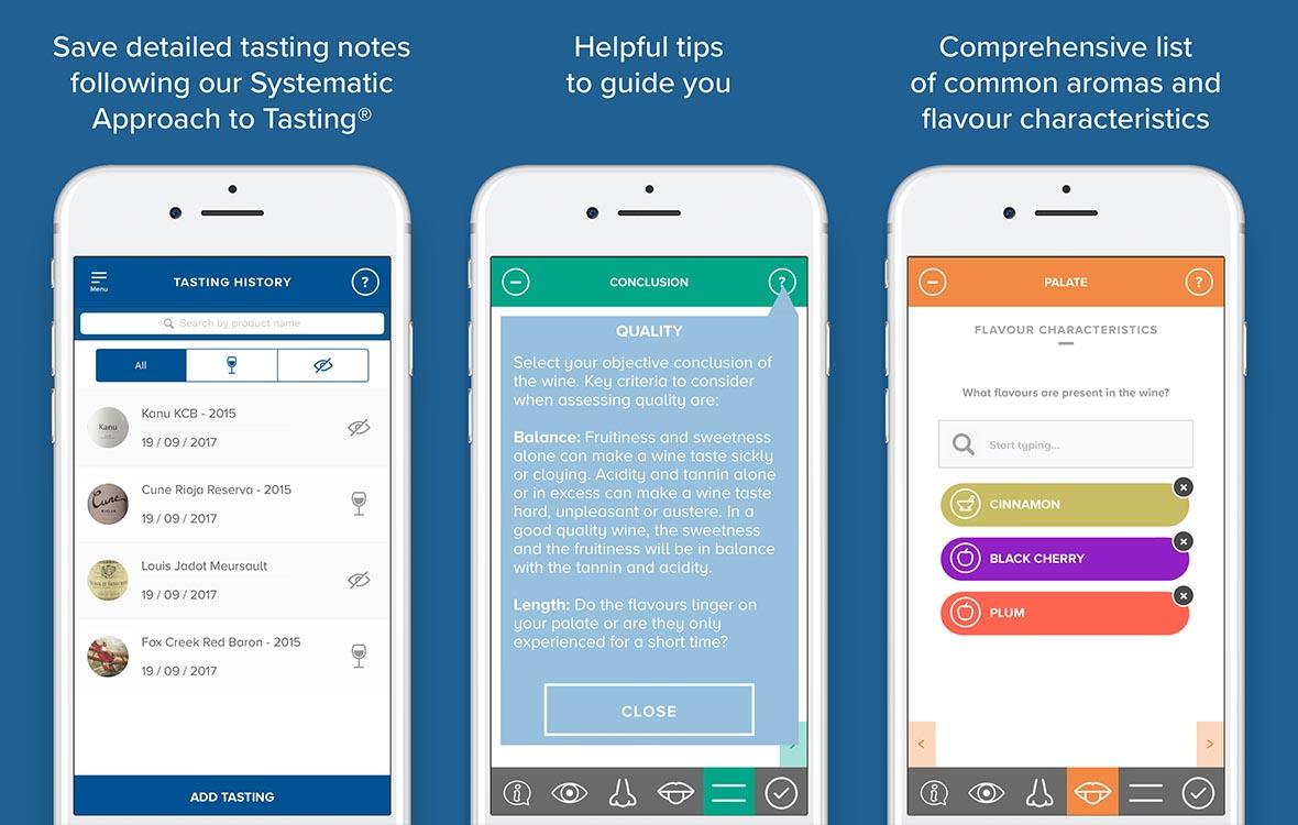 WSET's Tasting notes app - wine | Wine & Spirit Education Trust